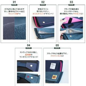 ボディバッグ ショルダーバッグ 財布 ミニ コ...の詳細画像4