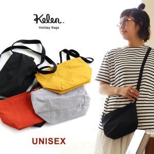 ホリデイバッグ バッグ かばん 鞄 ショルダーバッグ ミニショルダー 肩掛け 斜め掛け 無地 レディース メンズ Kelen|paty