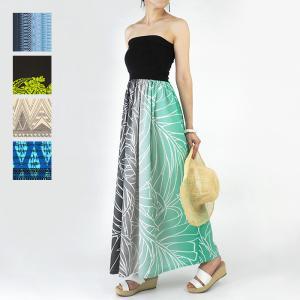 チューブトップドレス ワンピース ロングタイプ 61007|pauskirt