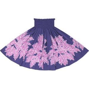 紫のパウスカート ウル柄 2625PP|pauskirt