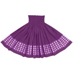 【送料無料】 ポエポエパウスカート ブライトパープルの無地 パラカ SopoepoeS-2028PP-brightpurple フラダンス 衣装|pauskirt