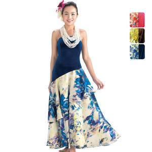 【送料無料】ベルベット スリーブレス フラドレス 色とサイズが選べる 71029ds|pauskirt