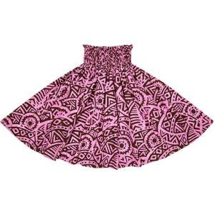 紫のパウスカート タパ・カヒコ柄 2695PP フラダンス 衣装|pauskirt