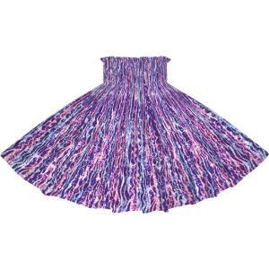 紫のパウスカート ウエーブ柄 2705PP フラダンス 衣装|pauskirt