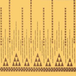 ベージュのハワイアンファブリック オヘカパラ・カヒコ柄 fab-2712BG 【4yまでメール便可】|pauskirt