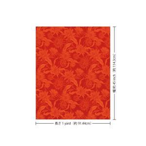 赤のハワイアンファブリック ピタヤ柄 fab-2725RD 【4yまでメール便可】|pauskirt|03