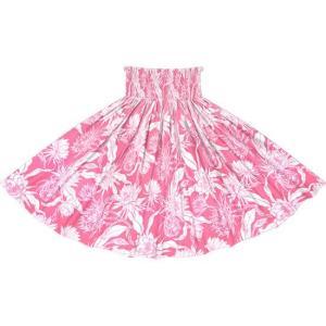 ピンクのパウスカート ピタヤ柄 2725Pi フラダンス 衣装|pauskirt