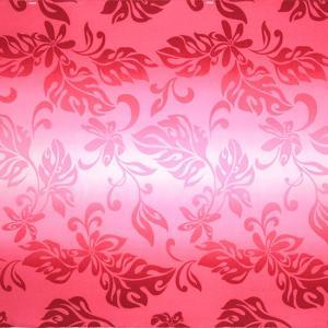 ピンクのハワイアンファブリック ティアレ・グラデーション柄 fab-2728Pi 【4yまでメール便可】|pauskirt
