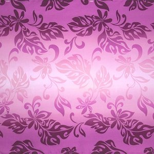 紫のハワイアンファブリック ティアレ・グラデーション柄 fab-2728PP 【4yまでメール便可】|pauskirt