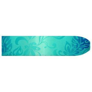 水色のパウスカートケース ティアレ・グラデーション柄 pcase-2728AQ 【メール便可】|pauskirt