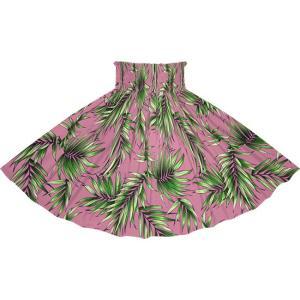 紫のパウスカート ヤシ柄 2729PP フラダンス 衣装|pauskirt