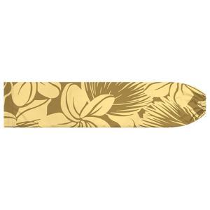 茶色のパウスカートケース プルメリア・レフア大柄 pcase-2742BR 【メール便可】|pauskirt