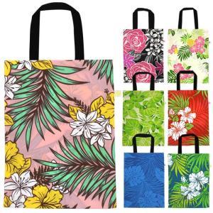 手さげバッグ A4サイズ対応 ソフトバッグ ハワイアン柄 fsit-bag-a4 【メール便可】|pauskirt