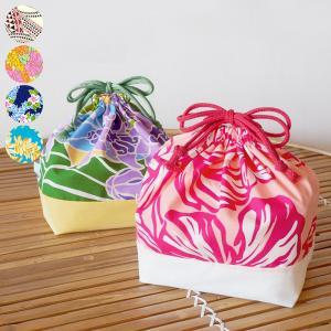 ランチ巾着 お弁当袋 ハワイアン柄 巾着袋 fsit-lunch-bag 【メール便可】|pauskirt