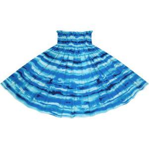 送料無料クーポン配布中◆ 青のパウスカート イリカイ柄 spau-2774BL フラダンス 衣装