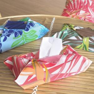 ティッシュボックスカバー ハワイアン柄 ティッシュケース fsit-case-box-tissue 【メール便可】|pauskirt