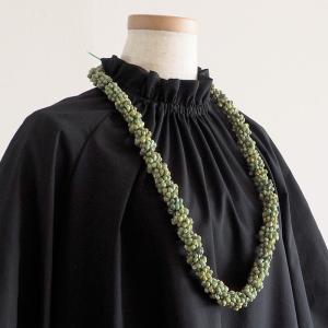 シェルレイ ネックレス 緑のモンゴシェルSN020-GreenMongoShell pauskirt