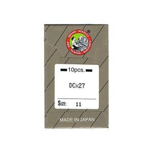 オルガン針社製 DC×27 サイズ#11 10本入り 【メール便可】|pauskirt