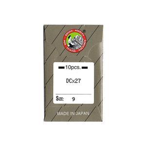 オルガン針社製 DC×27 サイズ#9 10本入り 【メール便可】|pauskirt