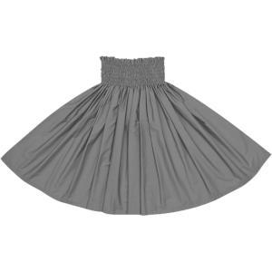 ダークブラックのパウスカート 無地 muji_black-c300 フラダンス 衣装 pauskirt