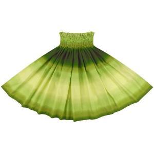 きみどりと緑のパウスカート グラデーション柄 2270LGGN フラダンス 衣装 pauskirt