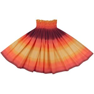 オレンジと紫のパウスカート グラデーション柄 2270ORPP フラダンス 衣装|pauskirt