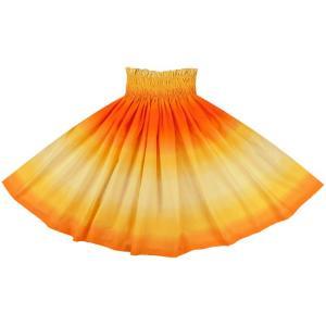 黄色とオレンジのパウスカート グラデーション柄 2270YWOR フラダンス 衣装|pauskirt