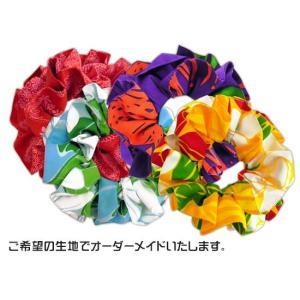 オーダー髪飾り ファブリックフリルシュシュ 予約注文 Yoyaku-Frill-Shushu 【メール便可】|pauskirt