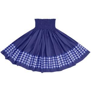 ポエポエパウスカート 青の無地 パラカ柄 SopoepoeS-2028BL-royalblue フラダンス 衣装 pauskirt