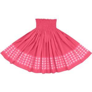 【送料無料】 ポエポエパウスカート ピンクの無地 パラカ柄 SopoepoeS-2028Pi-c033 フラダンス 衣装 pauskirt