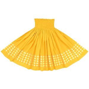 【送料無料】 ポエポエパウスカート 黄色の無地 パラカ柄 SopoepoeS-2028YW-gold-c126 フラダンス 衣装 pauskirt
