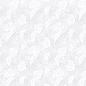 白のハワイアンファブリック ポリコットン モンステラ総柄 fab-2022WHWH 【4ヤードまでメール便可】 pauskirt