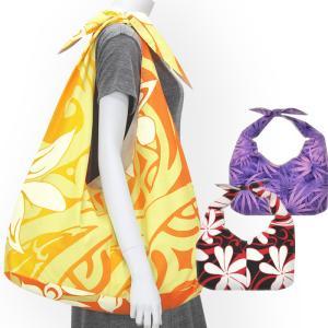 リボントートバッグ ハワイアン柄 fsit-bag-rbn 【メール便可】|pauskirt