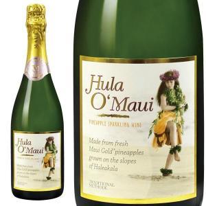 スパークリングワイン フラ・オ・マウイ パイナップルワイン ハワイアンワイン 1本 750ml ハワイ お土産|pauskirt