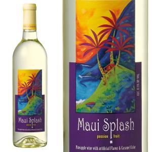 マウイスプラッシュ 白ワイン パイナップルワイン ハワイアンワイン 1本 750ml ハワイ お土産|pauskirt