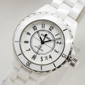 質イコー [シャネル] CHANEL 腕時計 J12 ホワイトセラミック 38mm H0970 自動...