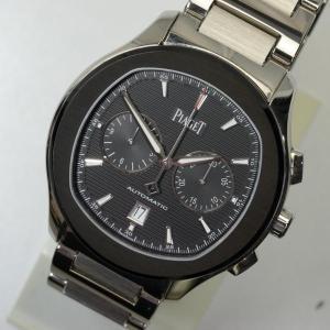[ピアジェ] PIAGET 腕時計 ポロS クロノグラフ 8...
