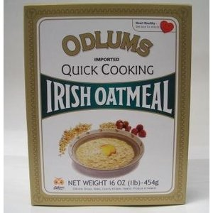 ODLUMS オドラムズ クイックオートミール 454g IRIH OATMEAL(Quick cooking)|pawpawshop