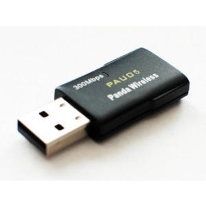 (パンダ) Panda 300Mbps N対応無線LAN USBアダプター Windows Vista/7/8/8.1/10、Mint、Ubuntu、|pawpawshop