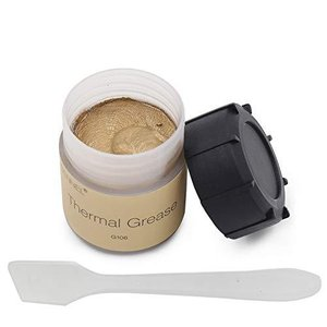 20?gゴールドシリコンThermal Compound Grease Paste For PC CPUヒートシンクチップセットVGA GPU Ove|pawpawshop