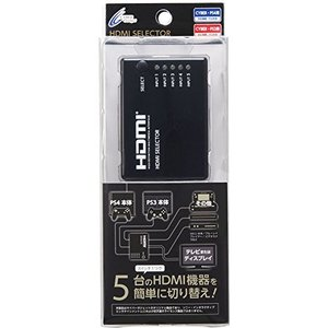 CYBER ・ HDMIセレクター 5in1 ( PS4 / PS3 用)|pawpawshop