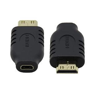 CYマイクロHDMIタイプDソケットメスto Mini HDMI 1.4オスタイプCアダプタ変換装置|pawpawshop