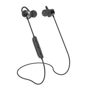 NUARL(ヌアール) Bluetooth ワイヤレスステレオイヤホン マイク付き IPX6相当 耐水 ブラックメタリック NB20C-BM|pawpawshop