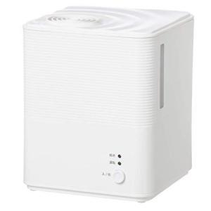 [山善] スチーム式 加熱式 加湿器 (タンク容量 2.5L) (木造約6畳 / プレハブ約9畳) (アロマポット付き) ホワイト KS-GA25(W|pawpawshop