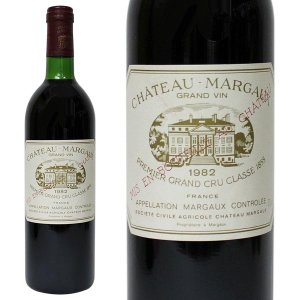 シャトー マルゴー [1982年] 750ml 箱なし(赤ワイン・フランス)|paz-work