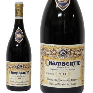 シャンベルタン グラン クリュ 2013年 アルマン ルソー 750ml 箱なし(赤ワイン・フランス)|paz-work