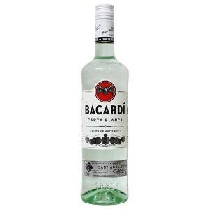 バカルディ ホワイト ラム(カルタ ビアンカ) 750ml 40% 正規輸入品 箱なし(その他のお酒・ラム)|paz-work