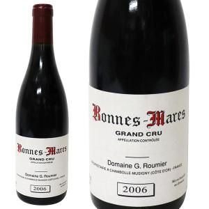 ボンヌ マール グラン クリュ 2006年 ジョルジュ ルーミエ 750ml 箱なし(赤ワイン・フランス)|paz-work
