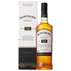 ボウモア 12年 700ml 40% 正規品・箱付き(ウイスキー)|paz-work