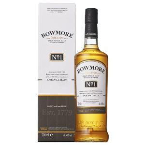 ボウモア No.1 ナンバーワン 700ml 40% 正規品・箱付き(ウイスキー)|paz-work